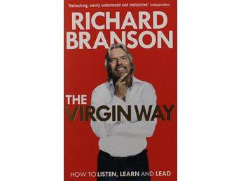 The Virgin Way, Richard Branson (Storpocket Eng)