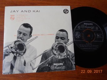 "JAY AND KAI 7"" Jazz EP Philips Minigroove NCB 1950-tal"