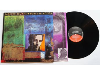 ** Jackson Browne ?– World In Motion  **