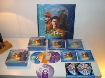Dreamcast - Shenmue (PAL), komplett + Limited Edition Vinyl (SEALED)