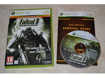 Fallout 3 Game Add-On Pack Broken Steel and Point Lookout Xbox 360 Komplett