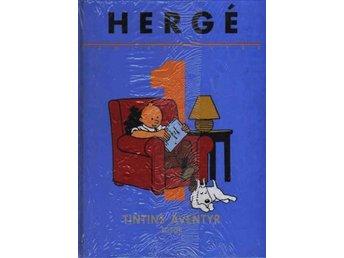 Javascript är inaktiverat. - Stockholm - Hergé Samlade Verk vol 1 - 1:a upplagan 1999 nyskick originalinplastad. Totors äventyr & Tintin i Sovjet - Stockholm