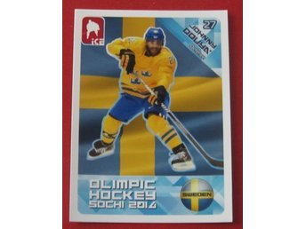 2014 ICE Olimpic hockey Sochi Johnny Oduya  # 25