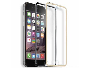 4-PACK iPhone 6 Aluskydd SVART
