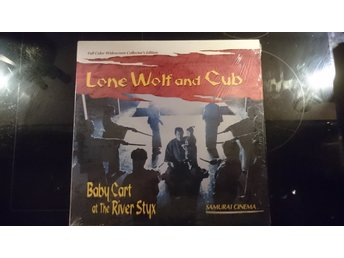 LONE WOLF AND CUB Baby Cart at River Styx Laserdisc  WIDESCREEN VERY RARE