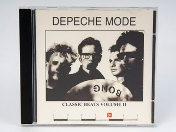 Depeche Mode: Classic Beats Volume II Remixsamling, CD, (CB-CD02) 1995