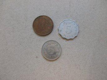 1972 Malta 5 Cents