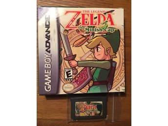 Gba gameboy advance Zelda The Minish Cap