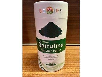 Bio-Life Spirulina, pulver 500g - Fjälkinge - Bio-Life Spirulina, pulver 500g - Fjälkinge