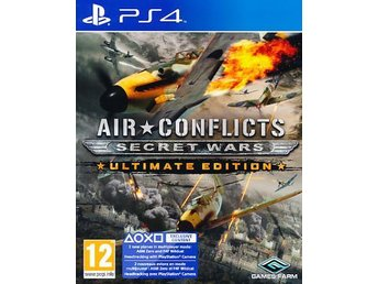 Air Conflicts Secret Wars Ult EdPS4 (PS4) - Nossebro - Air Conflicts Secret Wars Ult EdPS4 (PS4) - Nossebro