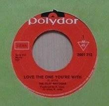 "The Isley Brothers title* Love The One You're With* Soul 7"" - Hägersten - The Isley Brothers title* Love The One You're With* Soul 7"" - Hägersten"