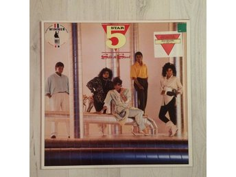 FIVE STAR - SILK AND STEEL. (NEAR MINT LP)