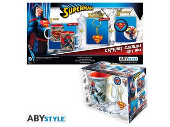 Gift Set - Mugg, nyckelring, mm - DC Comics - Superman