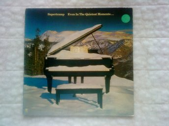 SUPERTRAMP Even in the Quietest Moments, LP vinyl 1977