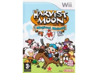 Wii - Harvest Moon: Magical Melody (Beg)