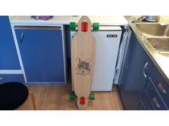 "Longboard. ..Land yachtz ""The Battle Axe"""