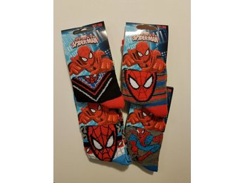 3-pack Strumpor Spindelmannen / Spiderman 31-34