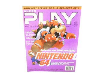 "Super Play Augusti 1996 ""nintendo 64 special"""