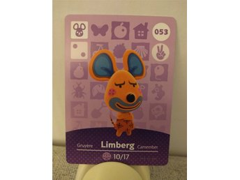 Animal Crossing Amiibo Welcome Amiibo card nr 053 Limberg