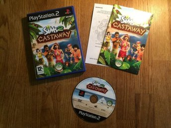 THE SIMS 2 CASTAWAY  PS2 PLAYSTATION  2
