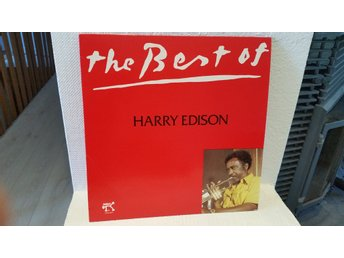 Harry Edison - The best of Harry Edison (I mycket fint skick M-)