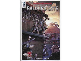 Dungeons & Dragons: Evil at Baldur's Gate # 2 Cover B NM Ny Import