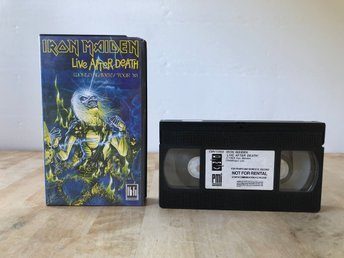 Iron Maiden - Live after Death - World slavery tour '85 - VHS