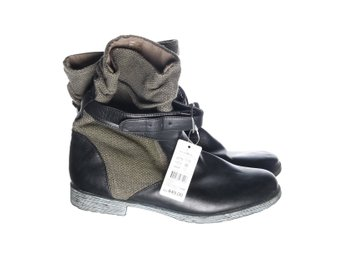 X Girls Collections, Boots, Strl: 39, Grå/Svart/Khaki