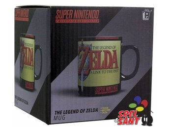 Super Nintendo Legend of Zelda Mug
