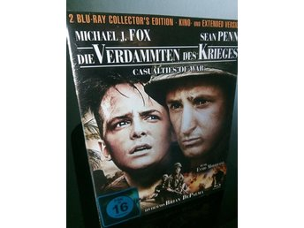 CASUALTIES OF WAR (1989) Blu-ray *Extended cut* 2-Discar  (Brian De Palma)