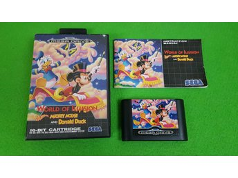 World of Illusion KOMPLETT Sega Megadrive