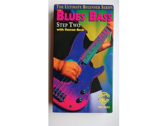 VHS The Ultimate Beginner Series: Blues Bass, step 2 with Roscoe Beck pappfodral