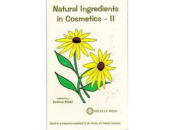 Bok om smink - Natural Ingredients in Cosmetics II (På eng)