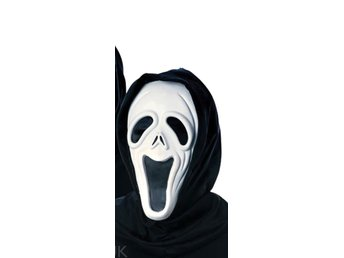 HALLOWEEN Glad Scream mask spöke våldnad