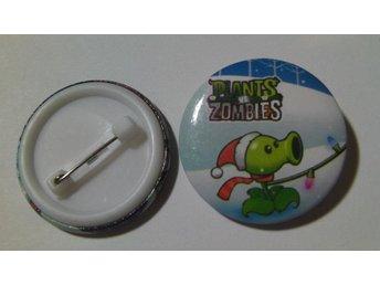 Nålknapp/Pins 3 cm Plants VS Zombies nr 18 ** 1 st ** - Hovmantorp - Nålknapp/Pins 3 cm Plants VS Zombies nr 18 ** 1 st ** - Hovmantorp