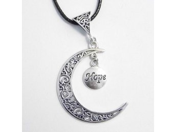 Hope måne halsband / Hope moon necklace