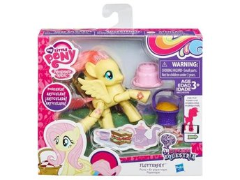 FLUTTERSHY EXPLORE EQUESTRIA POSEABLE MY LITTLE PONY