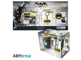 Gift Set - Mugg, nyckelring, mm - DC Comics - Batman