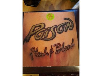 LP Poison  Flesh & Blood 1990