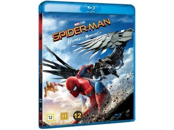 Spider-Man: Homecoming [Blu-ray] Ny & inplastad / Spiderman