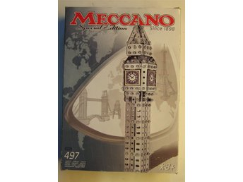 Meccano Special Edition Since 1898 Big Ben Modell nummer  83 0522