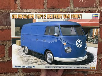 "Volkswagen Typ 2 Delivery Van 1967 ""Historic car series 9"" i skala 1/24"