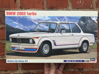 "BMW 2002 Turbo' ""Historic Car Series 24"" i skala 1/24 från HASEGAWA"