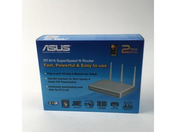 ASUS, Router, RT-N16, Grå