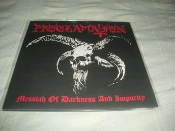 PROCLAMATION-Messiah of Darkness and Impurity [LP] 2007 Black War Metal Ny!