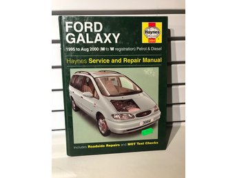 Haynes Reparationshandbok Ford Galaxy 1995-2000