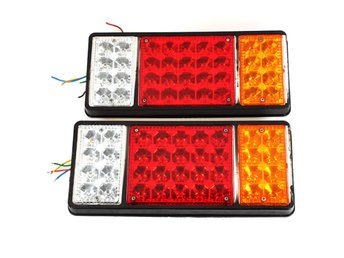 12V Truck Tail Light LED Electronic Rear Light Rail Netwo...