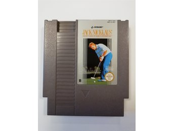 Jack Nicklaus Golf NES Nintendo PAL