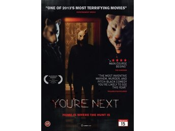 You're next. Sharni Vinson och Amy Seimetz