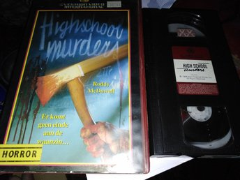 High school murders aka Cutting class (1989) Holland hyr slasher